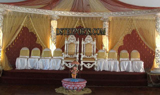 Latest Asian Wedding Crystal Stage For Sale
