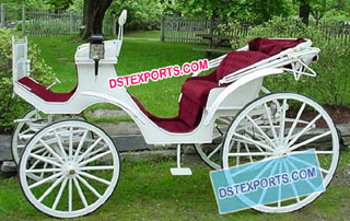 Latest Wedding Victoria Carriage For Manufacturer
