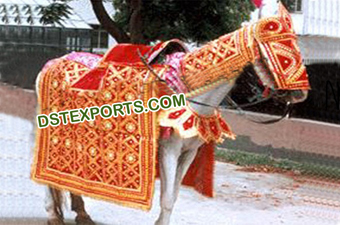 Wedding Designer Golden Horse Costumes