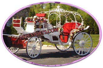 Beautiful Wedding Cinderella buggy