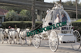 Latest Wedding Cinderella Carriage