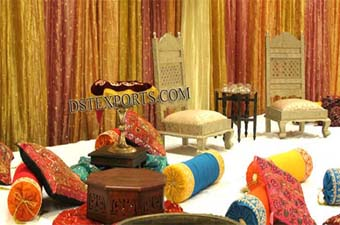 Wedding Mehandi Stage Set