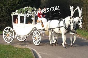 Royal New Covered Horse Carriages