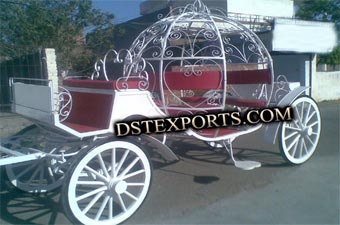 Indian New Wedding Cinderella Carriage