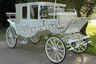Wedding Elegent Covered Carriages