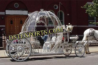 English Wedding  Cinderella  Covered Carriages