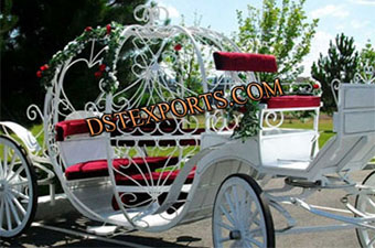 White Cinderella Carriages