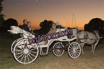 Wedding Single Horse Drawn Carriages