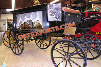 Traditional Black Funeral Carriages