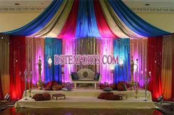 Latest Colourful Asian Wedding Stages