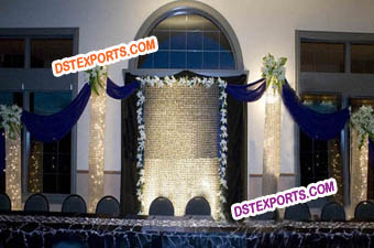 Latest New Crystal Wedding Stage