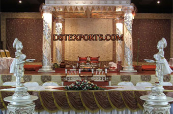 New Wedding Fiber Crystal Mandap