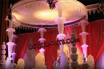 New Designer Wedding Crystal Mandap