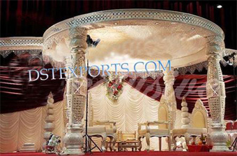 Wedding New Crystal Bottel Mandap