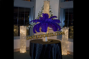 Wedding Lighted Latest Crystal Pillars