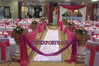 Wedding New Roman Aisle Pillars