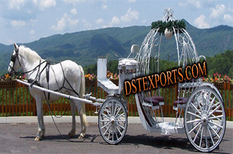 English Wedding Touring Cinderella Carriages