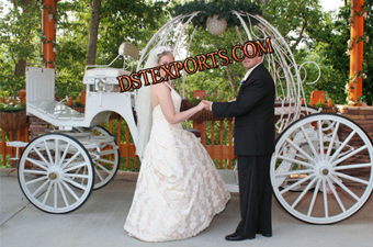 Happy Wedding Cinderella Carriages