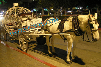 Wedding Beauty Cinderella Carriage
