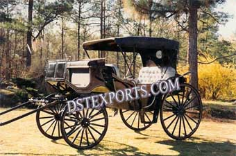 Antique Style Horse Drawn Carriages
