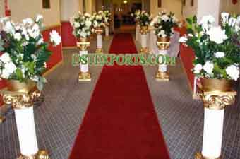 Wedding Latest Walk Way Roman Pillars
