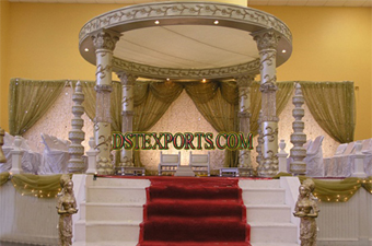 Bollywood Wedding Latest Crystal Mandap