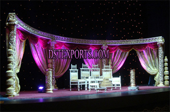 Wedding Carved Night Stage Set