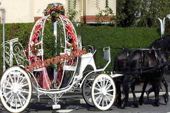 Wedding Beautiful Bridal Cinderella Carriage