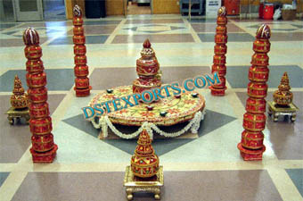 Indian Wedding latest Garba Pots Decoration