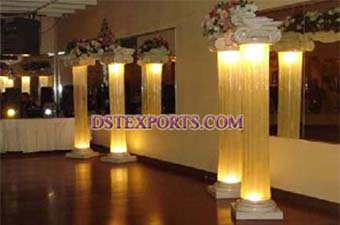 Wedding Lighted Latest Roman Pillars