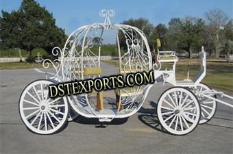 Latest Wedding Crowning Cinderella Carriage