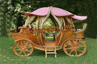 Latest Wooden Covered Carriage for supliers