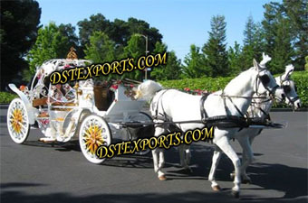 New Rose Parade Cinderella Horse Carriage