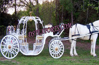 Italian Wedding Designer Cinderella Carriage