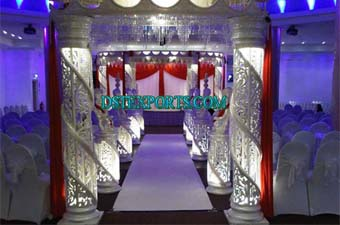 Wedding Crystal Mandap Set With Welcome Gate