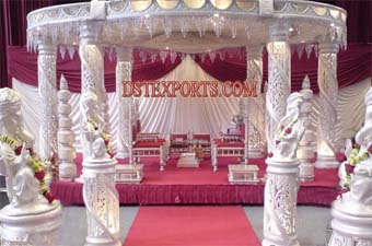 Latest Style Wedding Six Pillars Mandap Set