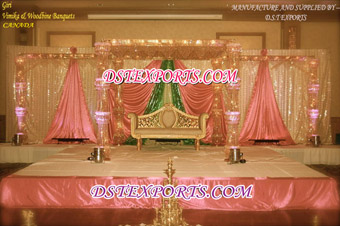 Latest Wedding Crystal Mandap New Design