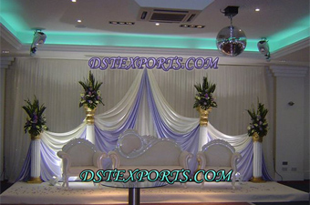 Wedding White Love Furniture Stage Set