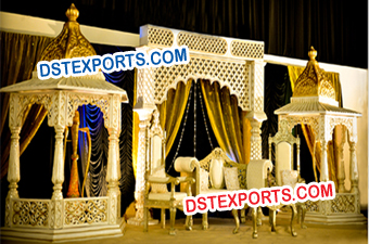 Latest Wedding Jodha  Akbar Stage Set