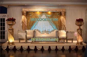 New Arabian Wedding Stage Set