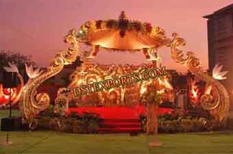 Stylish Asian Wedding Theem Stage Set
