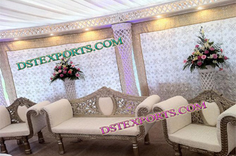 Muslim Walia Lighted Stage Set with furniture