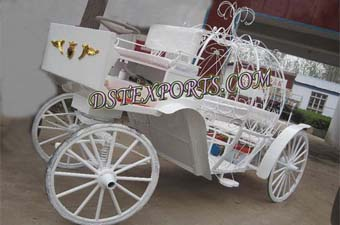 Indian Wedding Victoria Horse Carriage