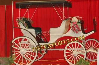Wedding Stage Decor Victoria Carriage