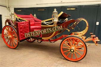 Stylish Royal Wedding Horse Drawn Carriage