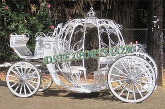 New Wedding Cinderella Horse Drawn Carriage