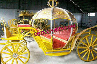 Wedding Stylish Crystal Cinderella Carriage