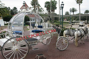 Latest Design Cinderella  Horse Carriage