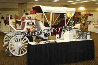 Victoria Carriage For Wedding Stage Decoration