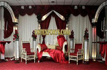Modern Wedding Diamond Lighted Stage